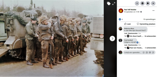 1983 1984 A esk 103 Verkbat EC Ritm vd Aker. Oefeningen en schietseries. Inz. Paul VdF Mulder 13