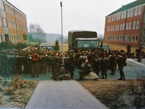 1983 1984 A esk 103 Verkbat EC Ritm vd Aker. Oefeningen en schietseries. Inz. Paul VdF Mulder 2