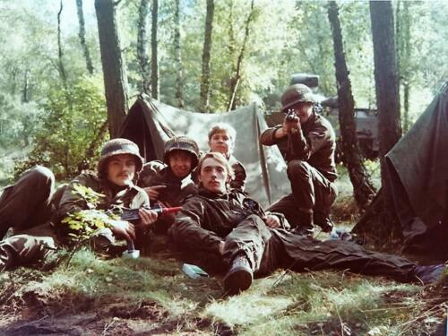 1983 1984 A esk 103 Verkbat EC Ritm vd Aker. Oefeningen en schietseries. Inz. Paul VdF Mulder 6
