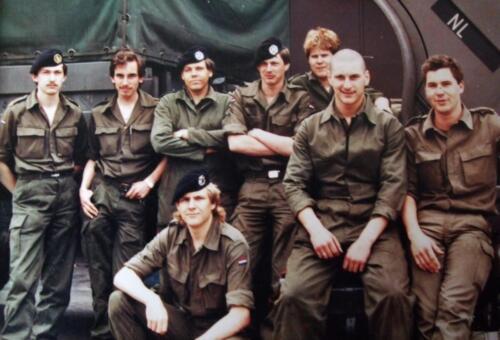 1983 1986 SSV Esk 103 Verkbat Onh Pel. Inzender Jan Cremers 2