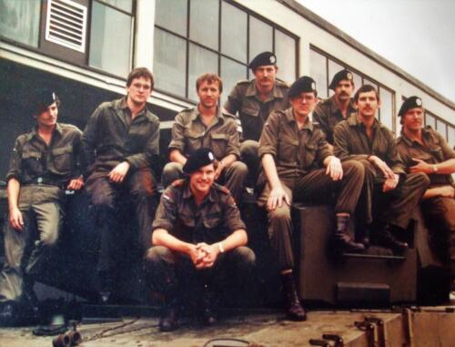 1983 1986 SSV Esk 103 Verkbat Onhpel. o.a. Sgt I Harry Dobber. Inz. Jan Cremers