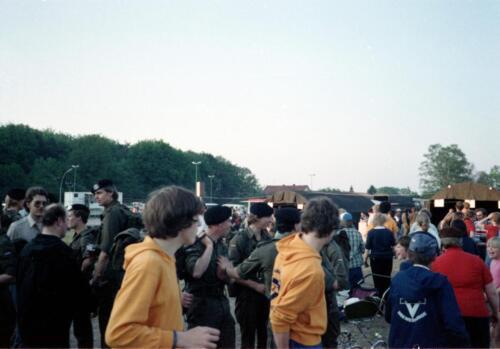 1983 1987 103 Verkbat Treffen met 3e Aufkl Batt 3 Inz. Wmr I Jan Pol 1
