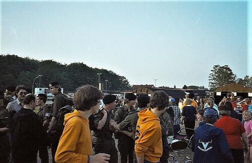 1983 1987 103 Verkbat Treffen met 3e Aufkl Batt 3 Inz. Wmr I Jan Pol 10
