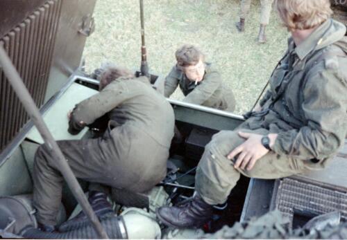1983 1987 103 Verkbat Treffen met 3e Aufkl Batt 3 Inz. Wmr I Jan Pol 12