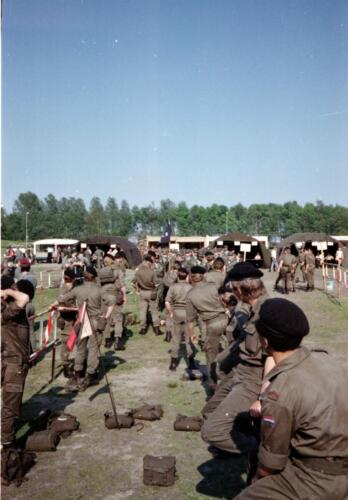 1983 1987 103 Verkbat Treffen met 3e Aufkl Batt 3 Inz. Wmr I Jan Pol 2