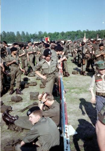 1983 1987 103 Verkbat Treffen met 3e Aufkl Batt 3 Inz. Wmr I Jan Pol 3