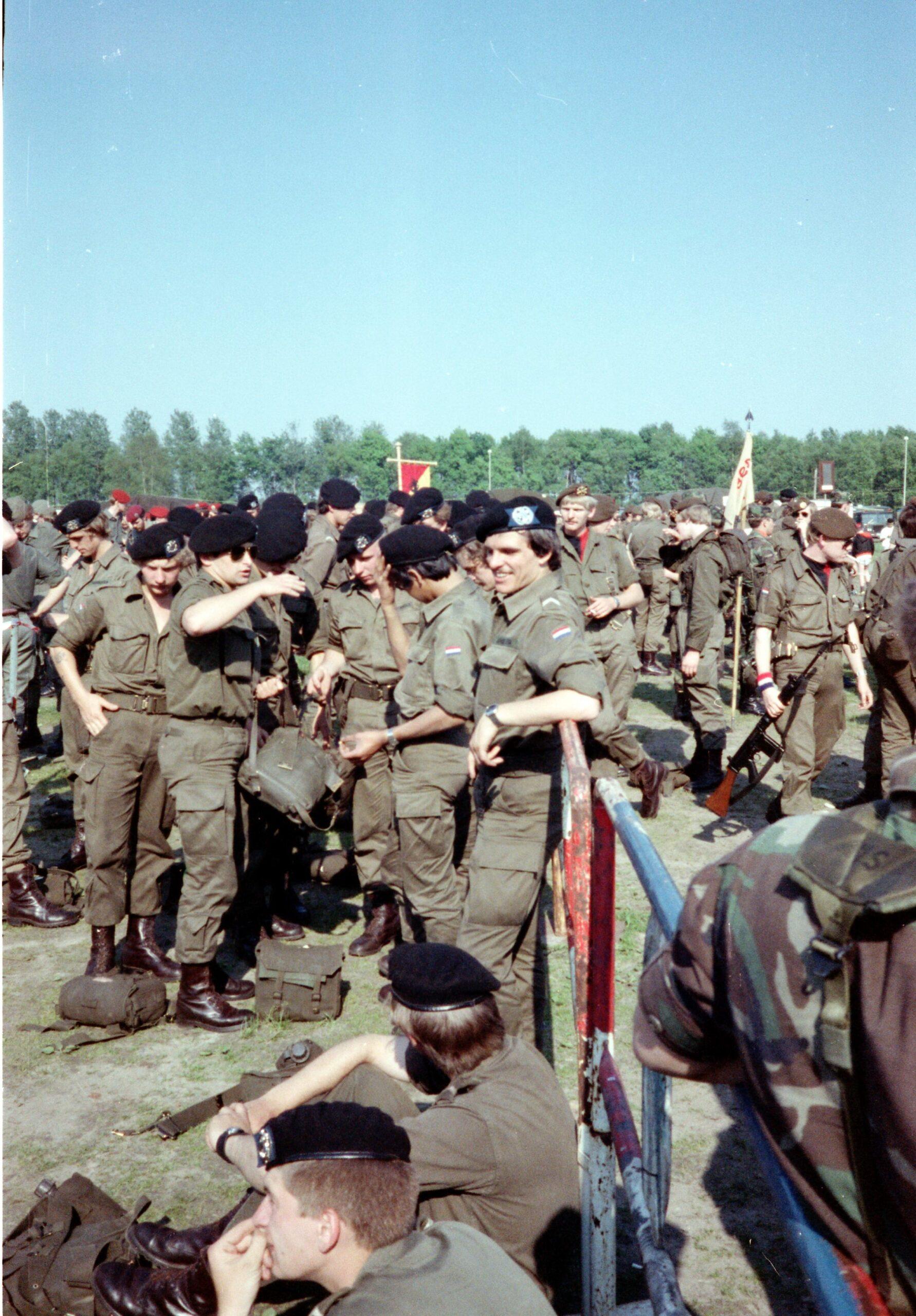 1983 1987 103 Verkbat Treffen met 3e Aufkl Batt 3 Inz. Wmr I Jan Pol 4