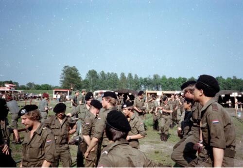 1983 1987 103 Verkbat Treffen met 3e Aufkl Batt 3 Inz. Wmr I Jan Pol 5
