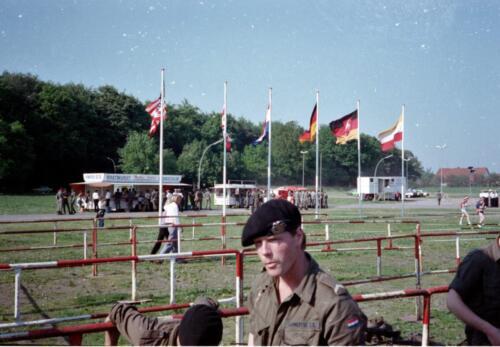1983 1987 103 Verkbat Treffen met 3e Aufkl Batt 3 Inz. Wmr I Jan Pol 6