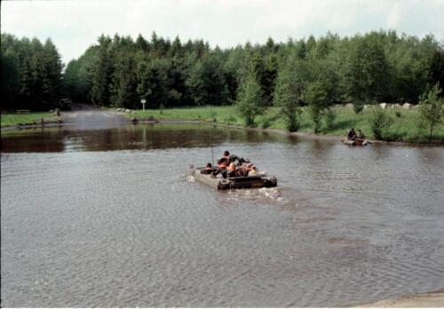 1983 1987 B Esk 103 Verkbat Amfibische oversteek met M113 Inz. Wmr I Jan Pol 1
