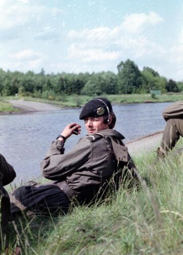 1983 1987 B Esk 103 Verkbat Amfibische oversteek met M113 Inz. Wmr I Jan Pol 3