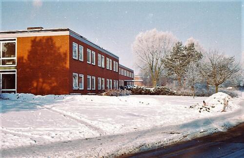 1983 1987 B Esk 103 Verkbat Besneeuwde legerplaats Seedorf rond de jaarwisseling Inz. Wmr I Jan Pol 11