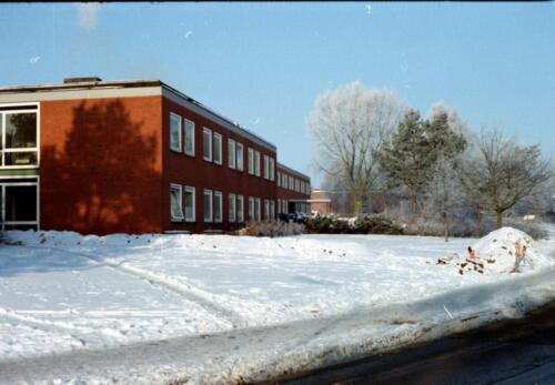 1983 1987 B Esk 103 Verkbat Besneeuwde legerplaats Seedorf rond de jaarwisseling Inz. Wmr I Jan Pol 4