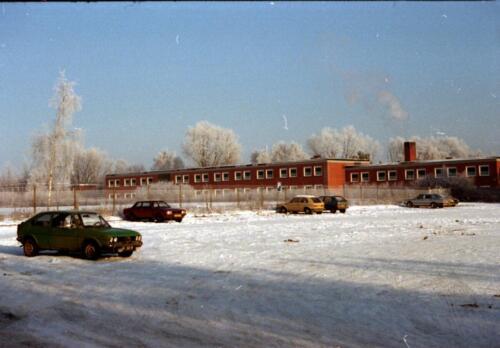1983 1987 B Esk 103 Verkbat Besneeuwde legerplaats Seedorf rond de jaarwisseling Inz. Wmr I Jan Pol 5