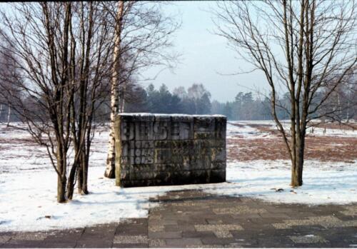 1983 1987 B Esk 103 Verkbat Bezoek Bergen Belsen Inz. Wmr I Jan Pol 1