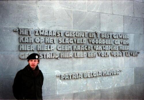 1983 1987 B Esk 103 Verkbat Bezoek Bergen Belsen Inz. Wmr I Jan Pol 12