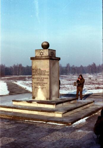 1983 1987 B Esk 103 Verkbat Bezoek Bergen Belsen Inz. Wmr I Jan Pol 15