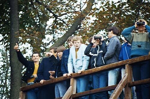 1983 1987 B Esk 103 Verkbat Bezoek IDG IJzeren gordijn. Inz. Wmr I Jan Pol 18