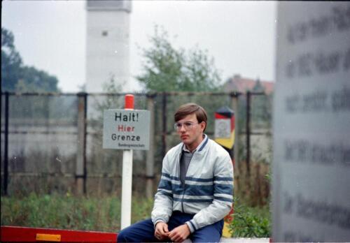 1983 1987 B Esk 103 Verkbat Bezoek IDG IJzeren gordijn. Inz. Wmr I Jan Pol 22