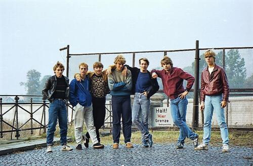 1983 1987 B Esk 103 Verkbat Bezoek IDG IJzeren gordijn. Inz. Wmr I Jan Pol 24