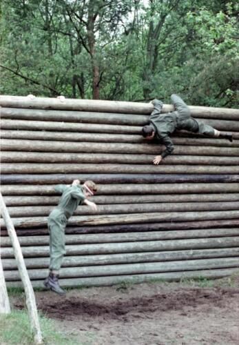 1983 1987 B Esk 103 Verkbat Boeselager Hindernisbaan ook die in Seedorf. Inz. Wmr I Jan Pol 12