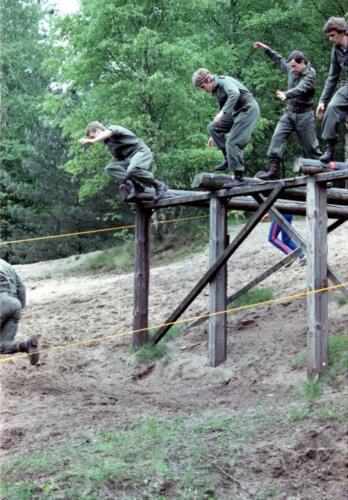 1983 1987 B Esk 103 Verkbat Boeselager Hindernisbaan ook die in Seedorf. Inz. Wmr I Jan Pol 13