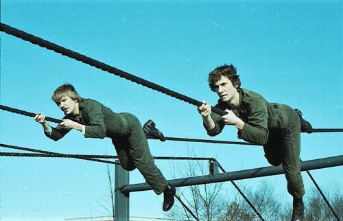 1983 1987 B Esk 103 Verkbat Boeselager Hindernisbaan ook die in Seedorf. Inz. Wmr I Jan Pol 14