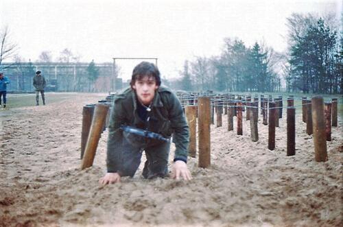 1983 1987 B Esk 103 Verkbat Boeselager Hindernisbaan ook die in Seedorf. Inz. Wmr I Jan Pol 16