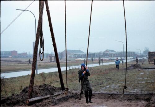 1983 1987 B Esk 103 Verkbat Boeselager Hindernisbaan ook die in Seedorf. Inz. Wmr I Jan Pol 19