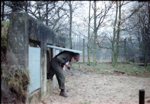 1983 1987 B Esk 103 Verkbat Boeselager Hindernisbaan ook die in Seedorf. Inz. Wmr I Jan Pol 2