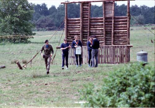 1983 1987 B Esk 103 Verkbat Boeselager Hindernisbaan ook die in Seedorf. Inz. Wmr I Jan Pol 22