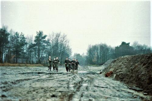 1983 1987 B Esk 103 Verkbat Boeselager Hindernisbaan ook die in Seedorf. Inz. Wmr I Jan Pol 23