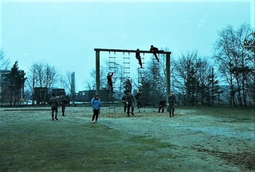 1983 1987 B Esk 103 Verkbat Boeselager Hindernisbaan ook die in Seedorf. Inz. Wmr I Jan Pol 25