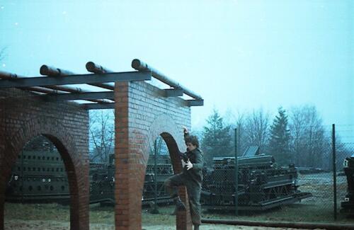 1983 1987 B Esk 103 Verkbat Boeselager Hindernisbaan ook die in Seedorf. Inz. Wmr I Jan Pol 26