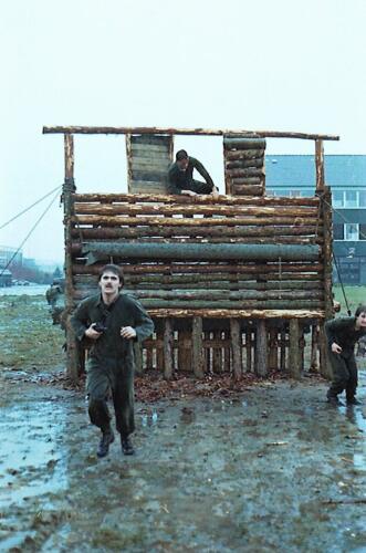 1983 1987 B Esk 103 Verkbat Boeselager Hindernisbaan ook die in Seedorf. Inz. Wmr I Jan Pol 29