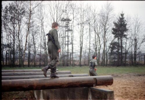 1983 1987 B Esk 103 Verkbat Boeselager Hindernisbaan ook die in Seedorf. Inz. Wmr I Jan Pol 3