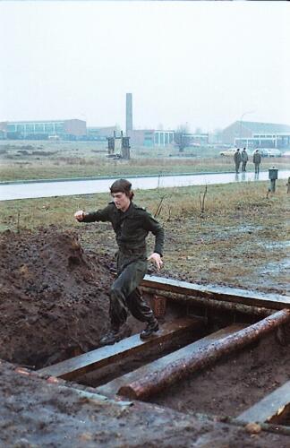 1983 1987 B Esk 103 Verkbat Boeselager Hindernisbaan ook die in Seedorf. Inz. Wmr I Jan Pol 30