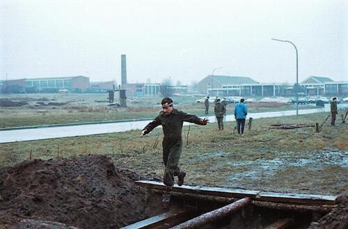 1983 1987 B Esk 103 Verkbat Boeselager Hindernisbaan ook die in Seedorf. Inz. Wmr I Jan Pol 31
