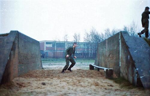 1983 1987 B Esk 103 Verkbat Boeselager Hindernisbaan ook die in Seedorf. Inz. Wmr I Jan Pol 32