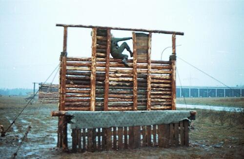 1983 1987 B Esk 103 Verkbat Boeselager Hindernisbaan ook die in Seedorf. Inz. Wmr I Jan Pol 33