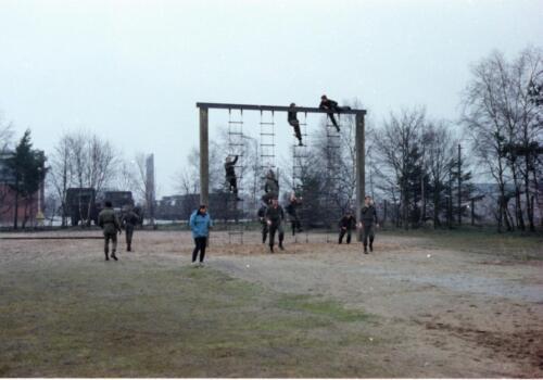 1983 1987 B Esk 103 Verkbat Boeselager Hindernisbaan ook die in Seedorf. Inz. Wmr I Jan Pol 4