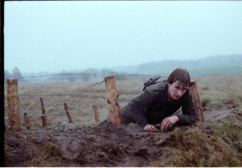 1983 1987 B Esk 103 Verkbat Boeselager Hindernisbaan ook die in Seedorf. Inz. Wmr I Jan Pol 6