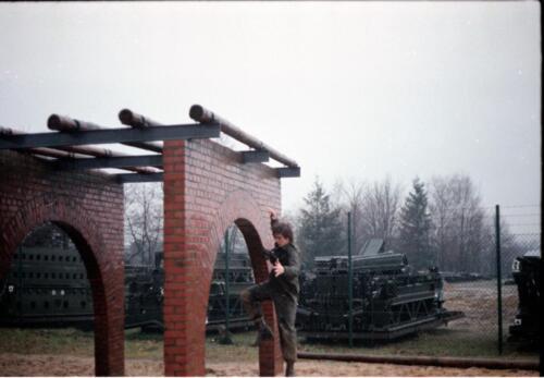 1983 1987 B Esk 103 Verkbat Boeselager Hindernisbaan ook die in Seedorf. Inz. Wmr I Jan Pol 9