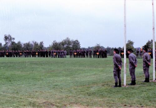 1983 1987 B Esk 103 Verkbat Boeselager wedstrijden De winnende ploegen en de bewonderaars. Inz. Wmr I Jan Pol 19