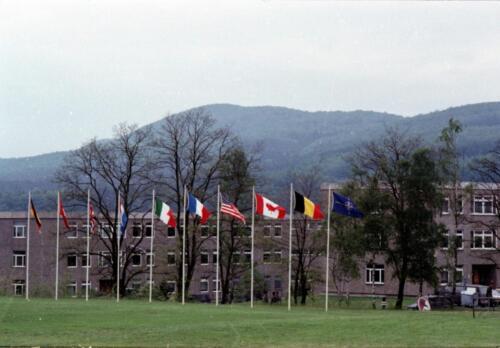 1983 1987 B Esk 103 Verkbat Boeselager wedstrijden De winnende ploegen en de bewonderaars. Inz. Wmr I Jan Pol 20