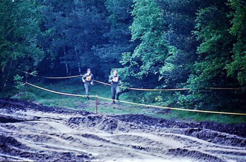 1983 1987 B Esk 103 Verkbat Boeselager wedstrijden Fysieke testen Hardloopparcours. Inz. Wmr I Jan Pol jpg 15