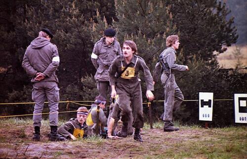 1983 1987 B Esk 103 Verkbat Boeselager wedstrijden Fysieke testen Hardloopparcours. Inz. Wmr I Jan Pol jpg 17a