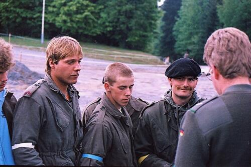 1983 1987 B Esk 103 Verkbat Boeselager wedstrijden Fysieke testen Hardloopparcours. Inz. Wmr I Jan Pol jpg 18
