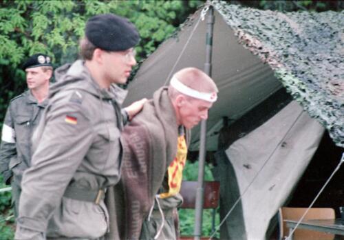 1983 1987 B Esk 103 Verkbat Boeselager wedstrijden Fysieke testen Hardloopparcours. Inz. Wmr I Jan Pol jpg 19