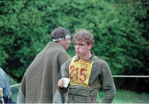1983 1987 B Esk 103 Verkbat Boeselager wedstrijden Fysieke testen Hardloopparcours. Inz. Wmr I Jan Pol jpg 23.